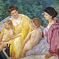 CASSATT: THE SWIM, 1910 Print by Granger