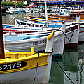 Cassis Boats by Brian Jannsen