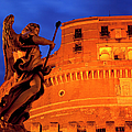Castel Sant Angelo Poster by Brian Jannsen