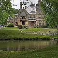 Castle Across River by Fred Lassmann