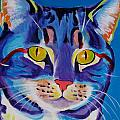 Cat - Lady Spirit Print by Alicia VanNoy Call