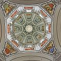 Cathedral Dome Interior, Close Up by Axiom Photographic