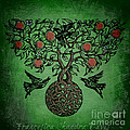 Celtic Tree Of Life by Sacred  Muse