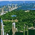 Central Park Color 6 by Scott Kelley