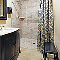 Changing Room And Shower by Skip Nall