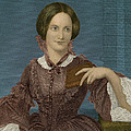 Charlotte Bronte, English Author by Photo Researchers