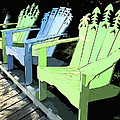 Cheerful Adirondacks by Michelle Wiarda