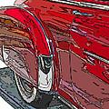 Chevrolet Fleetline Deluxe Rear Wheel Study by Samuel Sheats