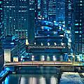 Chicago Bridges Print by Steve Gadomski