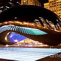Chicago Cloud Gate Luminous Field by Paul Velgos