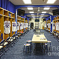 Chicago Cubs Dressing Room by David Bearden