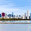 Chicago Panarama Skyline Print by Paul Velgos