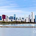 Chicago Panarama Skyline by Paul Velgos