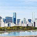 Chicago Panorama Skyline Print by Paul Velgos