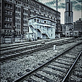 Chicago Rail Station by Donald Schwartz
