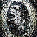 Chicago White Sox Ring Mosaic Print by Paul Van Scott