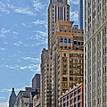 Chicago Willoughby Tower And 6 N Michigan Avenue by Christine Till