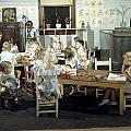 Children Play In A Day Nursery by J. Baylor Roberts