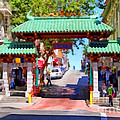 Chinatown Gate In San Francisco . 7d7139 by Wingsdomain Art and Photography