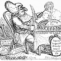 Cholera Doctor, Satirical Artwork by