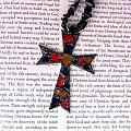 Christian  Cross by Cynthia Amaral