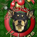 Christmas - Deck The Halls With Kelpies by Renae Laughner