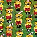 Christmas Teddy Bears by Genevieve Esson