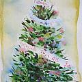 Christmas tree Print by Tilly Strauss