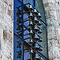Church bells Print by Shirley Mitchell