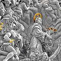 Church Of St James The Greater Prague - Stucco Bas-relief by Christine Till