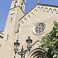 Church Parroquia De La Purissima Concepcio Barcelona Spain by Matthias Hauser