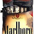 Cigarette Skeleton by Michael Kraus
