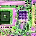 Circuit Board by Victor De Schwanberg