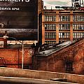 City - NY - New York History Print by Mike Savad