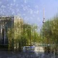 City-art Berlin River Spree by Melanie Viola