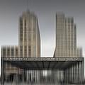 City-shapes Berlin Potsdamer Platz by Melanie Viola