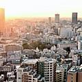 Cityscape Of Tokyo by Keiko Iwabuchi
