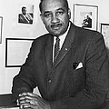 Clarence Mitchell, Jr., Head by Everett