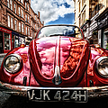 Classic Vw On A Glasgow Street by John Farnan