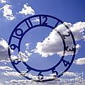 Clock face concept Print by Tony Cordoza