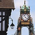 Clock In Chester by Andrew  Michael