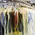 Clothing At Dry Cleaners by Andersen Ross