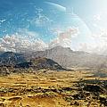 Clouds Break Over A Desert On Matsya by Brian Christensen