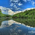 Clouds In The Lake by Adam Jewell
