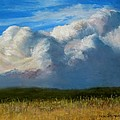 Clouds Over the Meadow Print by Jack Skinner