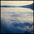 Clouds Reflected On River by Jodie Griggs