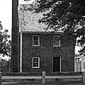 Clover Hill Tavern Guesthouse Bw by Teresa Mucha
