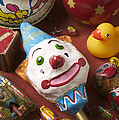 Clown Rattle And Old Toys by Garry Gay