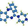 Clozapine Antipsychotic Drug Molecule by Dr Mark J. Winter