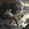 Coal Mine Explosion, 19th Century by Sheila Terry